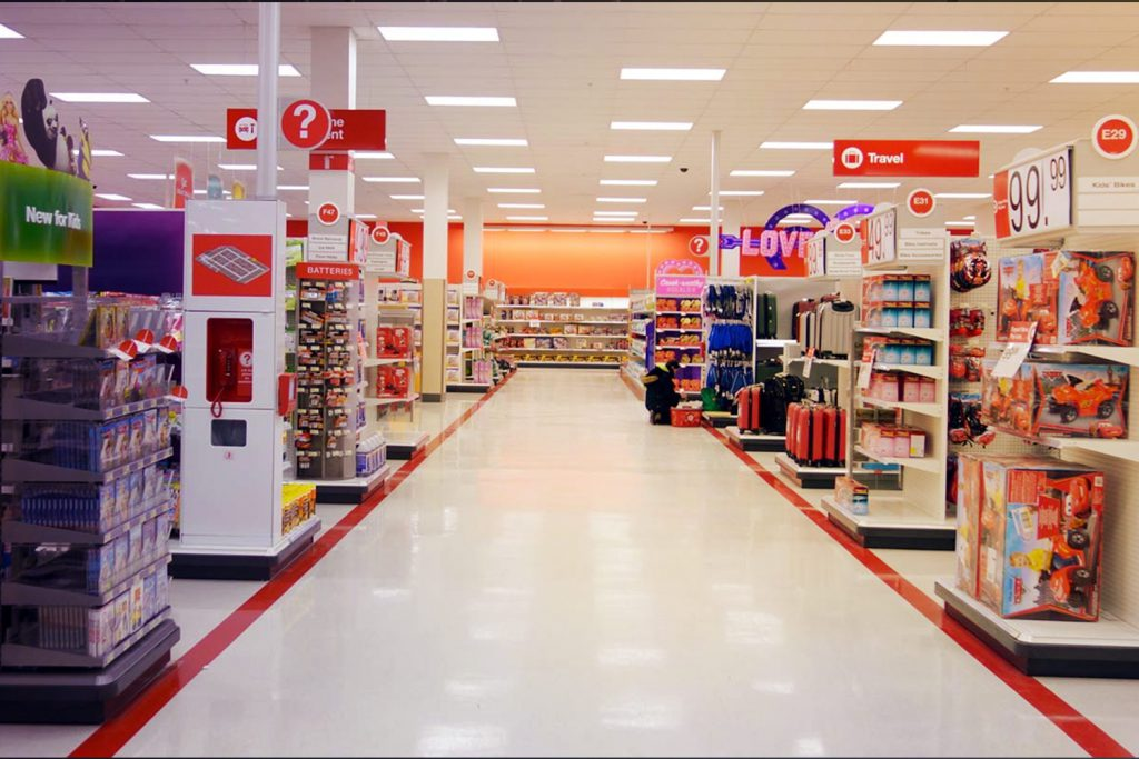 Image: Target store interior